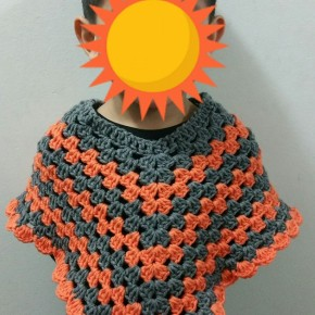 Crochet an Easy Toddler Poncho
