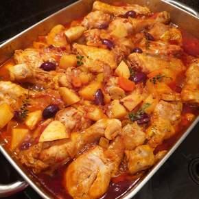 Greek Braised Chicken – KotopouloKokkinisto