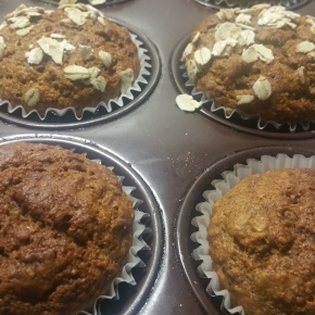 Healthy Tasty No-Sugar Banana Muffin Recipe