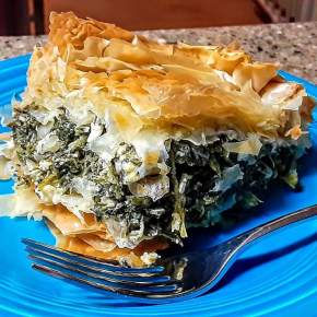 Spanakopita (Greek Spinach and Feta Pie)