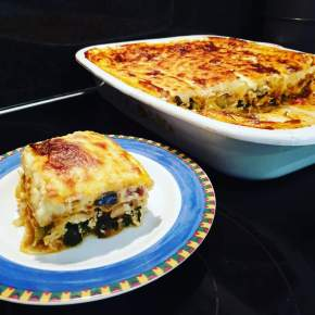 Vegetable Lasagna with Spinach and Ricotta