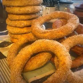 Koulouri – Greek Sesame Seed Bread Ring Snack
