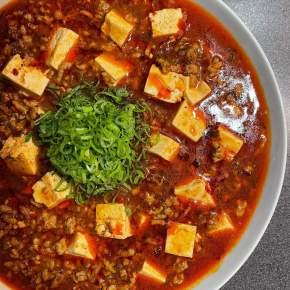 Ma Po Tofu – Spicy Tofu andPork